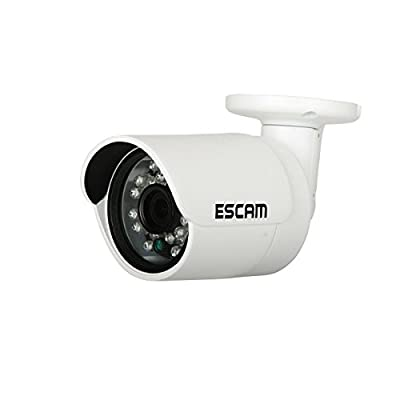 Twinbuys Wireless Camera , Metal Gun Type Waterproof Outdoor Bullet IP Camera WIFI Wireless Security Camera Supports Smart Phone Remote View by Escam that we recomend individually.