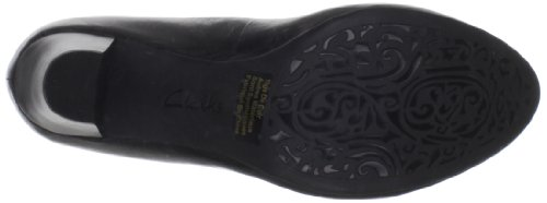 Clarks Women's Artisan Decade Rana Pump,Black,11 W US