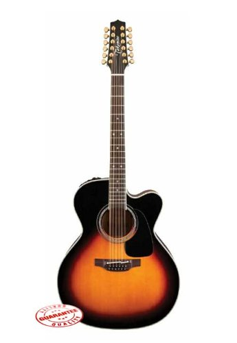 Takamine Series 6 Jumbo Body Acoustic Electric 12 With Case
