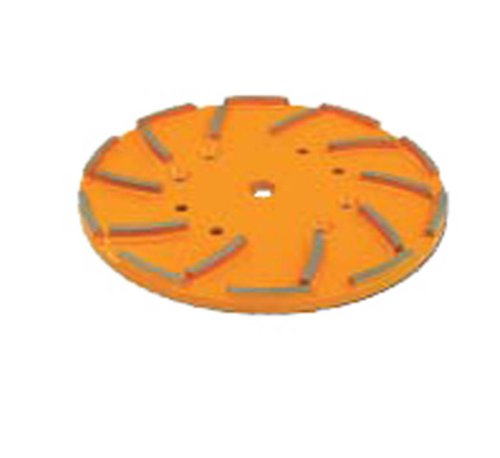 EDCO 19163 Turbo Grinder Accessory Gold 120 Grit Very Fine Grinding Disc