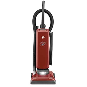 Dirt Devil M085590RED Featherlite Bagged Upright Vacuum Cleaner