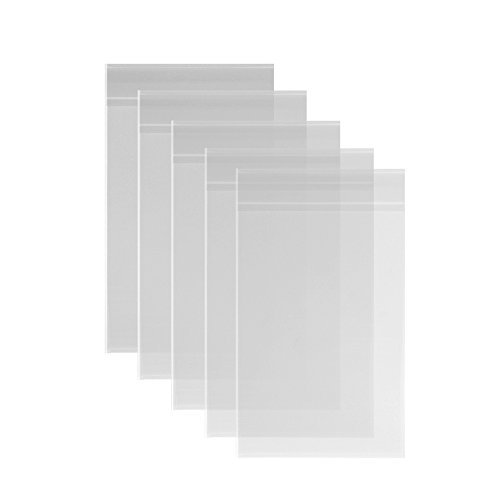 200ct-cellophane-treat-bags-adhesive-6x9-clear-14-mils-thick-self-sealing-opp-plastic-bags-for-baker