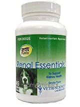 Renal Essentials Smoke Flavor 45 Chewable by Vetri-Science
