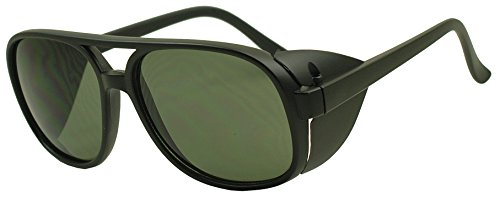 sunglass-stop-oversize-round-aviator-bomber-sunglasses-with-side-shields-matte-black-green-lens
