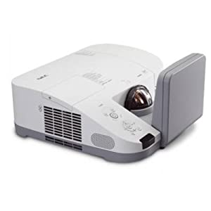 NEC Display NP-U310W 3D Ready DLP Ultra Short Throw Projector w/ Wall Mount Projector - HDTV - 16:10 - NTSC PAL SECAM - 1280 x 800 - WXGA - 2000:1 - 3100 lm - HDMI - USB - VGA - Ethernet - 360 W - 2 Year Warranty
