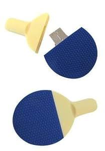 Euroge Tech® 8GB Table tennis bat USB Flash Drive Memory Stick Blue