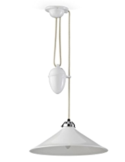 Original BTC Cobb Rise & Fall Large Ceiling Lamp