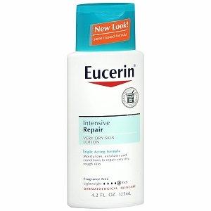 Eucerin Plus Intensive Repair Lotion for Dry Flaky Skin 4.2 Fl Oz