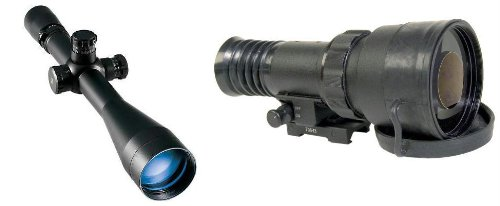 Atn Ps22-Hpt Gen Hpt Day/Night Vision Tactical Kit W/ Leupold Mark 4 3.5-10X40Mm