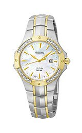 Seiko Women's SUT124 Analog Display Japanese Quartz Two Tone Watch