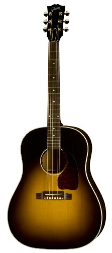 Gibson J-45 Standard Acoustic-Electric Guitar, Vintage Sunburst