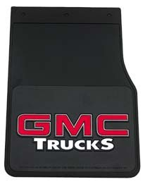 Plasticolor 0349 GMC Trucks Mud Flaps Splash Guards – Size 10″ x 14″ – Fits Most Trucks, Vans & SUVs