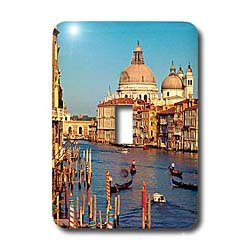 Vacation Spots - Venice Italy - Light Switch Covers - single toggle switch