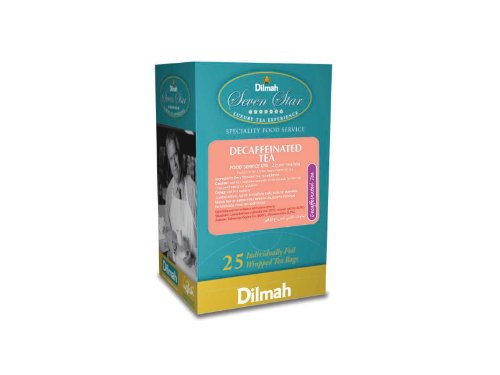 Dilmah Decaffeinated Tea, 1.76-Ounce Boxes (Pack of 4) by Dilmah