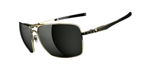 Oakley Plaintiff Squared OO4063-02 Aviator Sunglasses,Polish
