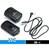 JJC JR-K Infrared wireless controller compatible with Fujifilm RR-80 for Fujifilm FinePix HS20EXR, HS22EXR, HS25EXR, HS28EXR, HS30EXR, HS33EXR, S20 Pro, S100FS, S200EXR, S9000, S9100, S9500, S9600, IS-1, X-S1