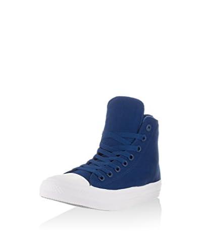 Converse Hightop Sneaker Chuck Taylor All Star Ii Hi blau/weiß