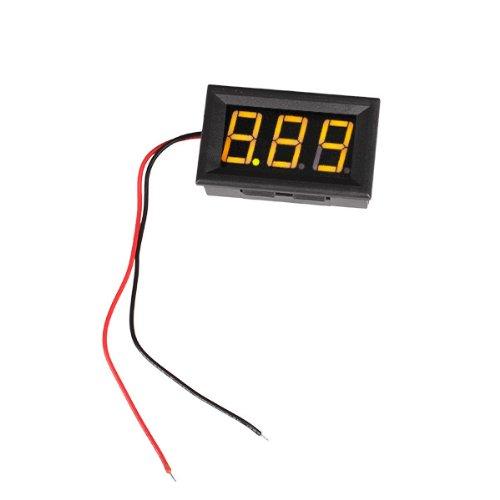 "Generic Yellow 0.56"" Led Display 3.50-30.0V Precision Digital Voltmeter Volt Meter"
