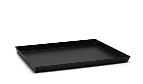 Ballarini Plaque de cuisson rectangulaire, 40x 30x (H) 3cm, fer bleu