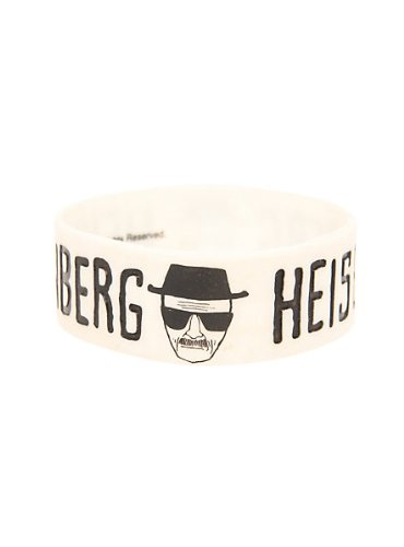 Breaking Bad Heisenberg Rubber Wristband