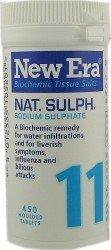 New Era No 11 Nat Sulph 450 Tablets