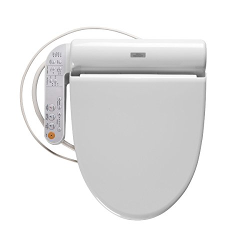 Toto Sw502#01 B100 Washlet Elongated Bidet Seat, Cotton White front-995204