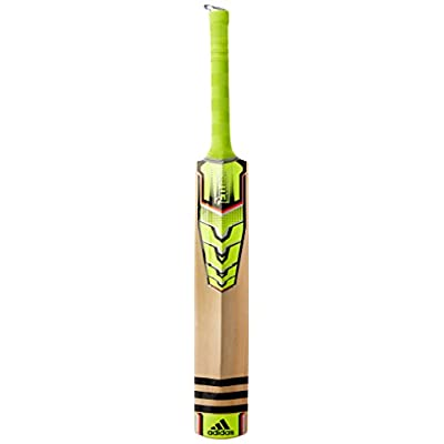 Adidas Pellara Club Kashmir-Willow Cricket Bat, Short Handle (Yellow)