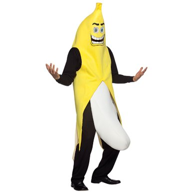 Banana Flasher Mens Halloween Banana Costume