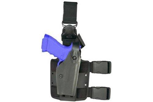 Safariland 6005 Earth Brown Beretta 92, 96 SLS Hood Quick Release Leg Harness Tactical Gun Holster by Safariland