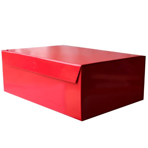 Deep Red Magnetic Gift Box (300 x 400 x 150mm)