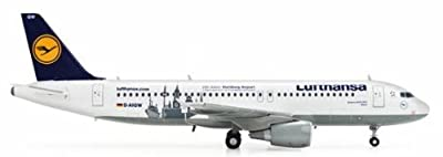 Daron Herpa Lufthansa A320 100 Jahre Hamburg Airpo Model Kit (1/200 Scale)