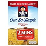 Quaker Oats Oat So Simple Original Porridge 18 X 27G