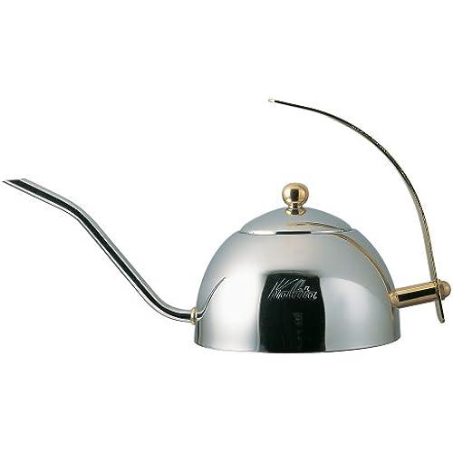 칼리타 드립백 커피 포트600S(스테인레스제/차를 거르는 쇠조리 부착) 600ml #52039