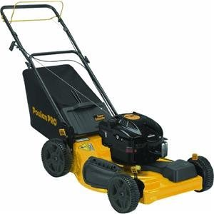 Poulan Pro PR675Y22RP 3 in 1 Side Discharge, Mulch and Bag with Front Self-Propelled Mower, 22-Inch