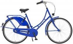 "Holland Nostalgie Damen ""Eco"" Fahrrad, kobaltblau, 50 cm"