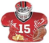 Football Player Shaped Platter