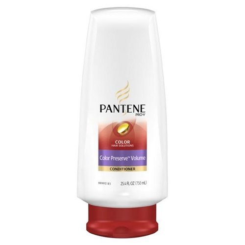 Pantene Conditioner Color Preserve Volume 25.4 oz (Pack of 6)