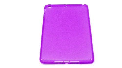ipad mini ipad mini 無地 ケース TPU素材 パープル au softbank