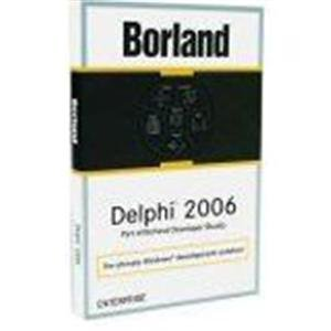 Upgrade Delphi 2006 Pro Named Fr Delphi V3-2005 Pro - CD