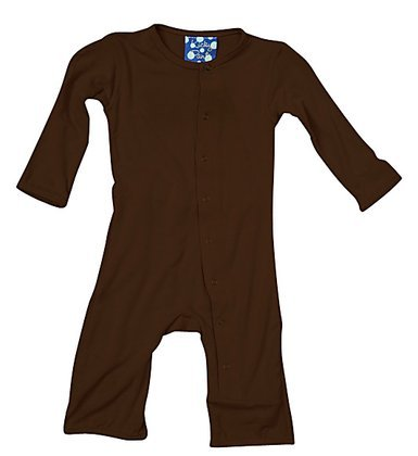 Kickee Pants Coverall, Bark, 18-24 Months