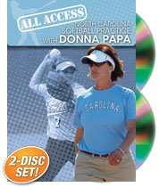 Championship Productions Donna Papa: All Access North Carolina Softball Practice DVD at Amazon.com