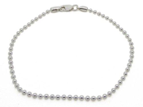 ambertar-gioielli-bracciale-catenina-argento-sterling-925-modello-sfere-larghezza-2-mm-lunghezza-18-