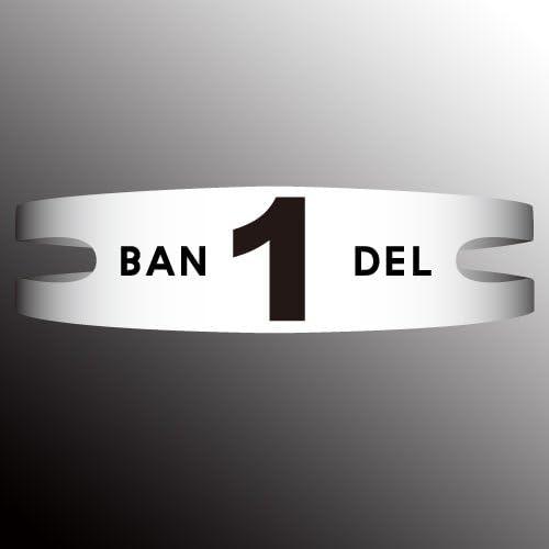 BANDEL 반델 팔찌 반델 목걸이 BRACELET 팔찌 넘버 시리즈 No.1 화이트 L(19cm)