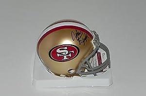 Autographed John Taylor Mini Helmet - 49er #w595470 - JSA Certified - Autographed NFL... by Sports Memorabilia