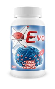Evo Brain Supplement Improve Focus Memory Energy Limitless Pill