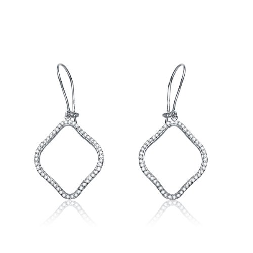CZ MICRO PAVE EARRINGS
