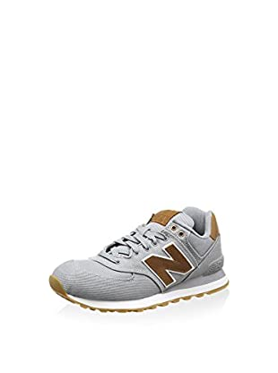 New Balance Zapatillas Wl574Bfl (Gris / Marrón)