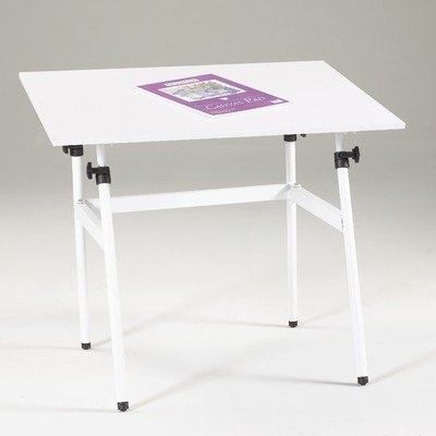 Martin U-DS1400C Berkley Drafting-Art Folding Table, With White Top, 30-Inch by 42-Inch Surface