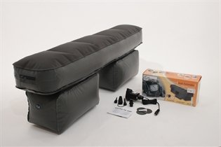 """Petego Auto/Suv/Truck Seat Extender Back Seat Space Filler W/ Electric Pump { 49""""L X 10""""W X 13""""H}"""