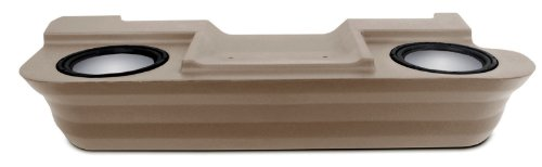 "Mtx Thunderform Subwoofer Enclosure For Dodge Ram Extra Cab Pickup 1994-2001 (Tan) Unloaded For 2-10"" Subs Drxp20Tu"
